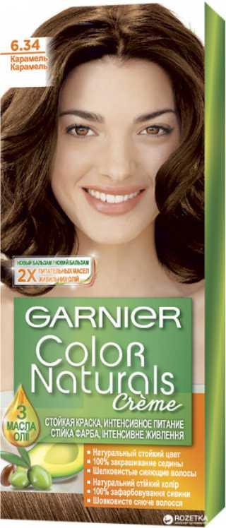 GARNIER - КРАСКА GARNIER NATURALS 6.34 КАРАМЕЛЬ 3600540676993