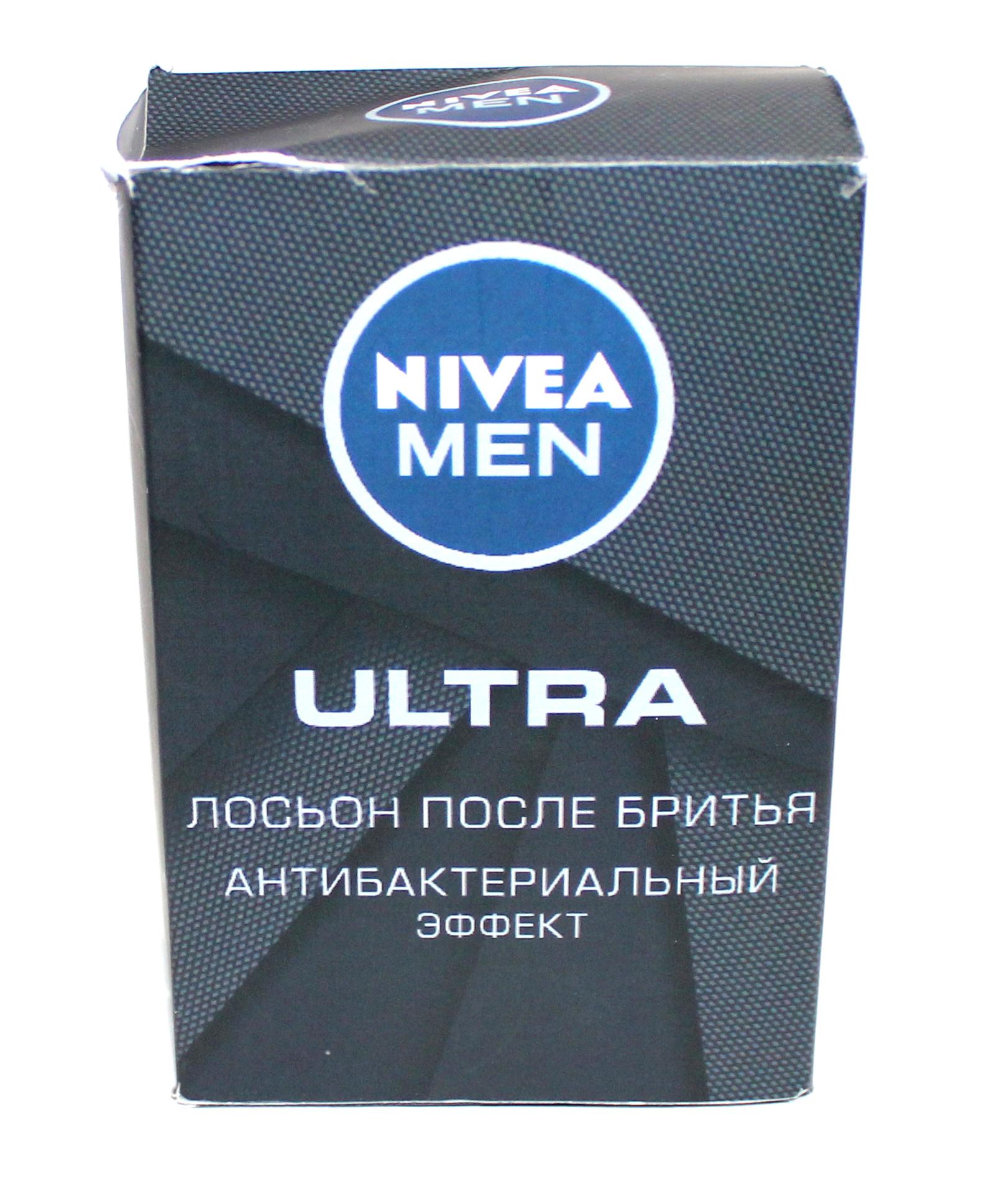 NIVEA - ЛОСЬОН ПОСЛЕ БРИТЬЯ NIVEA 100мл ULTRA 4005900495341