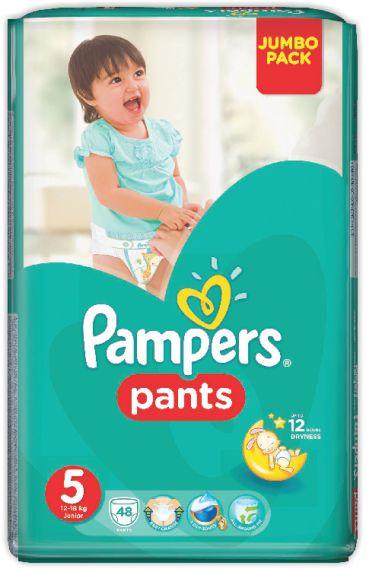 PAMPERS - ТРУСИКИ PAMPERS PANTS S5 48шт 12-17кг 4015400672906
