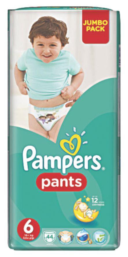 PAMPERS - ТРУСИКИ PAMPERS PANTS S6 44шт 15кг+ 4015400674023