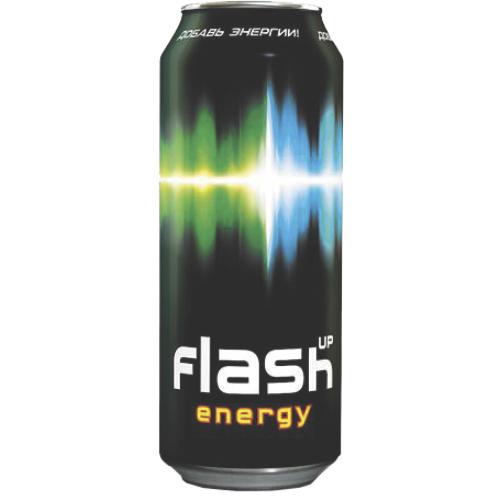 FLASH - ЭНЕРГЕТИЧЕСКИЙ НАПИТОК FLASH UP 0,45л Ж/Б 4600682557456