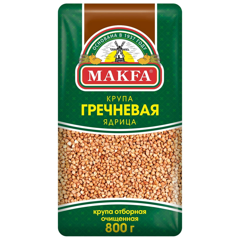 МАКФА - КРУПА ГРЕЧНЕВАЯ ЯДРИЦА 800гр 4601780005399
