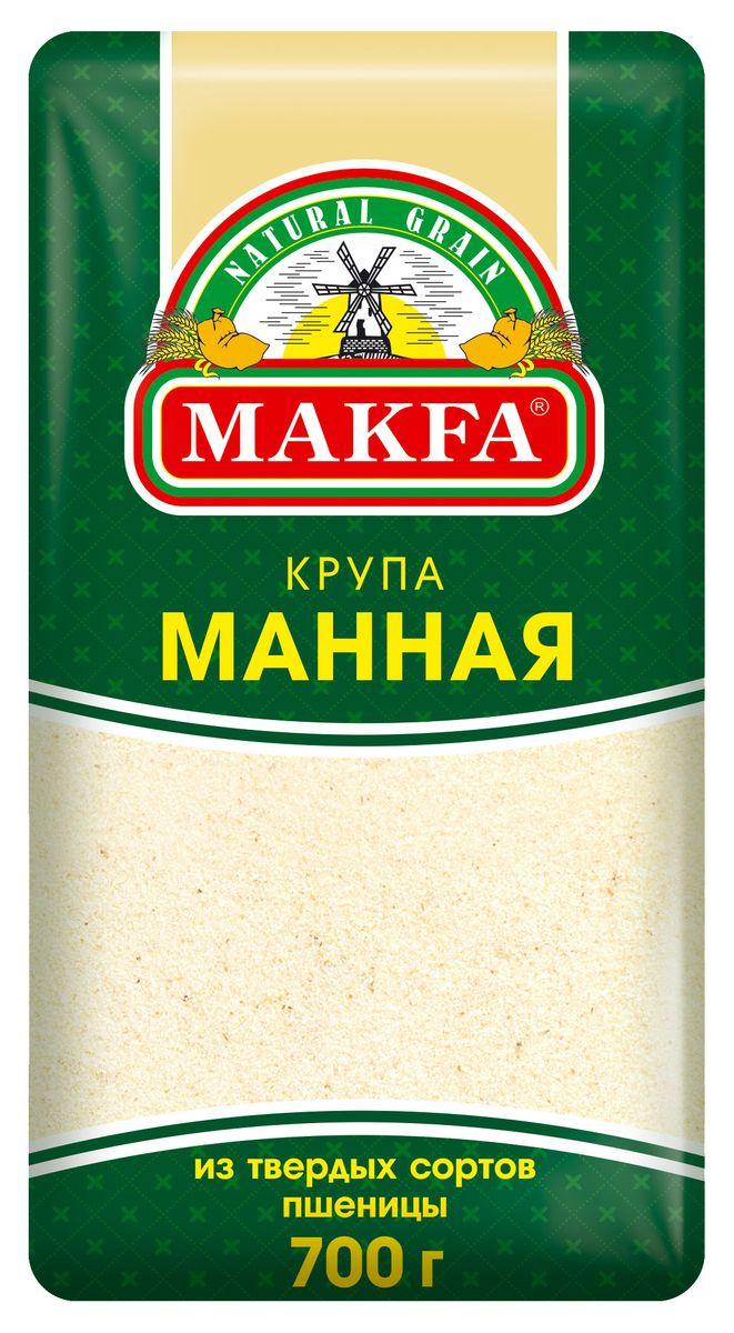 МАКФА - КРУПА МАННАЯ 700гр 4601780006211