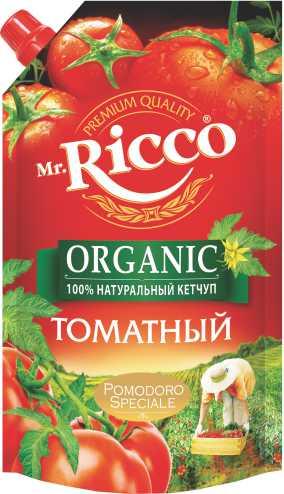 MR.RICCO - КЕТЧУП MR.RICCO ТОМАТНЫЙ Д\П 350ГР 4604075024433