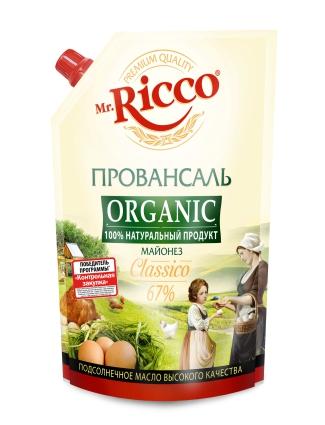 MR.RICCO - МАЙОНЕЗ MR RICCO ПРОВАНСАЛЬ 67% 400мл 4604075032148