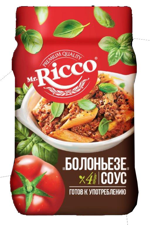 MR.RICCO - СОУС MR RICCO БОЛОНЬЕЗЕ 490ГР 4604075039710