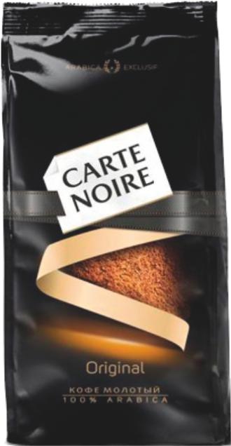 CARTE NOIRE - КОФЕ CARTE NOIRE МОЛОТЫЙ 230гр 4607001777144