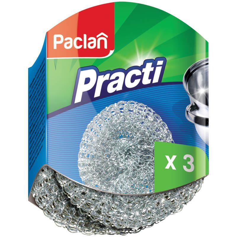 PACLAN - МОЧАЛКА МЕТАЛЛИЧЕСКАЯ PACLAN PRACTI 3шт 4607036877697
