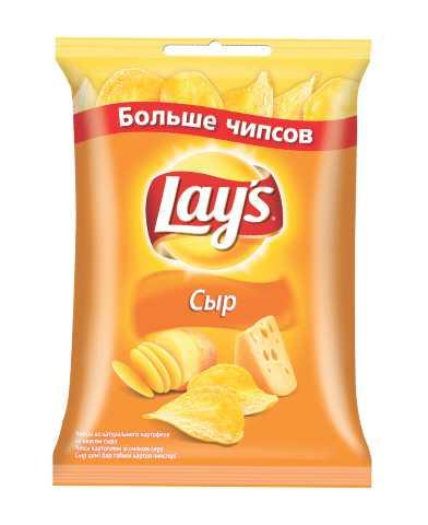 LAYS чипсы - ЧИПСЫ LAYS 150гр СЫР 4690388003692