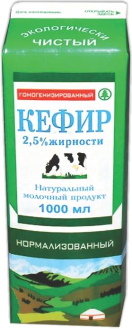УМУТ и К - КЕФИР УМУТ и К 2,5% Т/П 1л 4700040111907