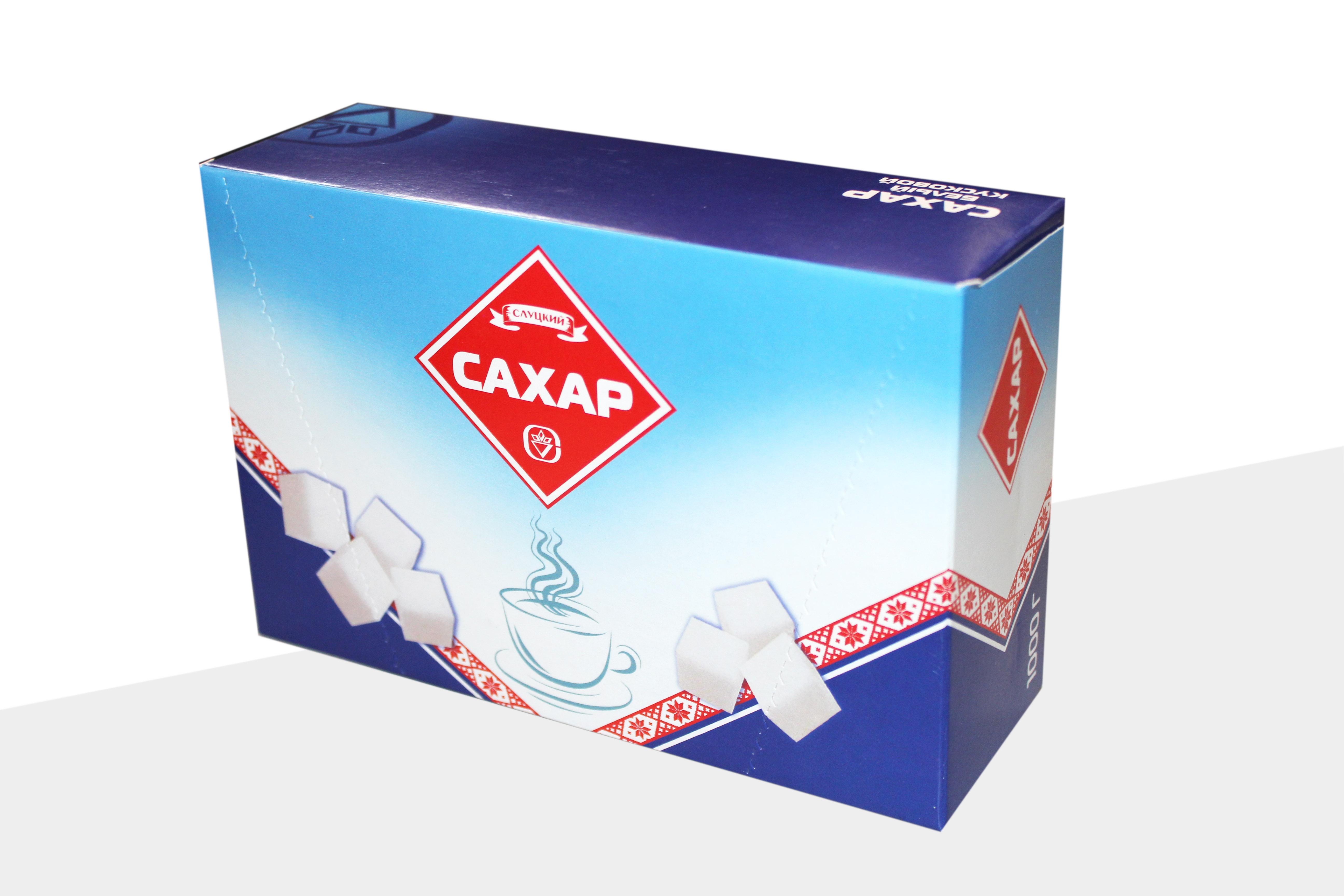СЛУЦКИЙ сахар - САХАР РАФИНАД 1000гр СЛУЦКИЙ 4810613000436