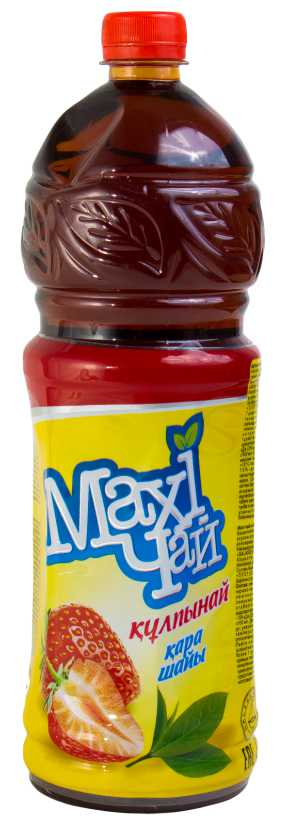 MAXI tea - ХОЛОДНЫЙ ЧАЙ MAXI TEA 1,2л КЛУБНИКА 4870202521254