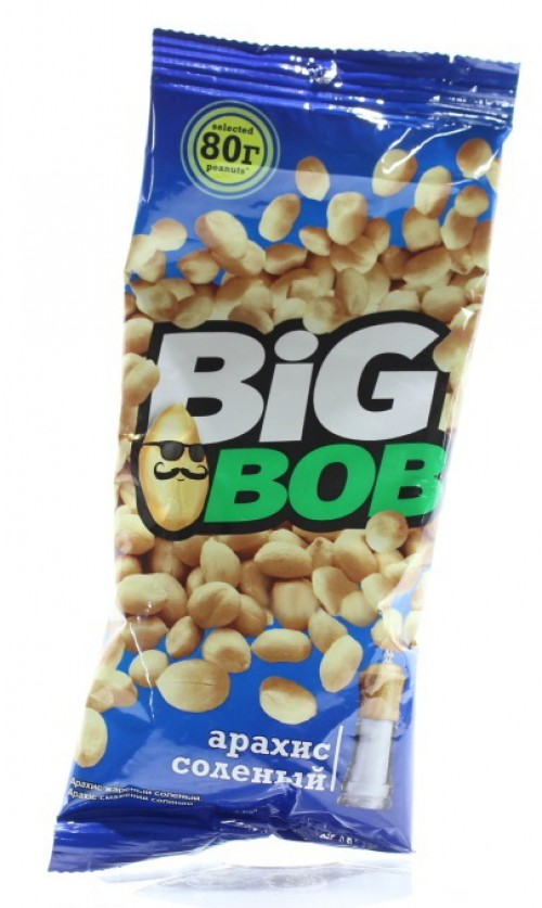 BIG BOB - ОРЕШКИ BIG BOB 80гр 4870209741785