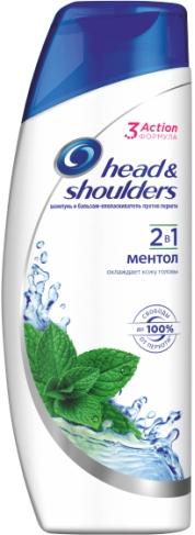 HEAD & SHOULDERS - ШАМПУНЬ HEAD & SHOULDERS 200мл МЕНТОЛ 5000174028447
