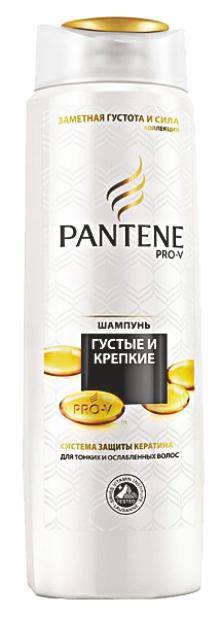 PANTENE - ШАМПУНЬ PANTENE 400мл ГУСТЫЕ И КРЕПКИЕ 5000174651249