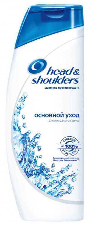 HEAD & SHOULDERS - ШАМПУНЬ HEAD & SHOULDERS 400мл ОСНОВНОЙ УХОД 2в1 5000174900774