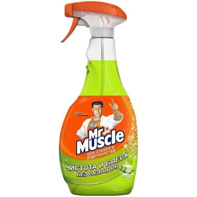 MR.MUSCLE - СРЕДСТВО Д/СТЕКОЛ MR.MUSCLE 750мл С УКСУСОМ 5000204003475
