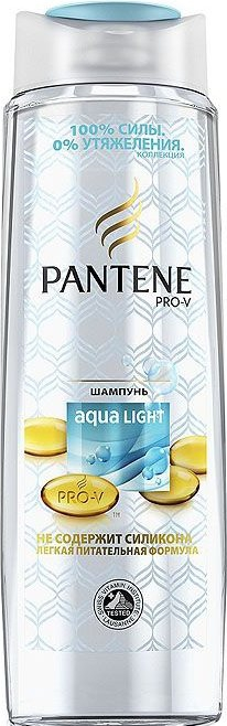 PANTENE - ШАМПУНЬ PANTENE 400мл AQUA LIGHT 5013965696381