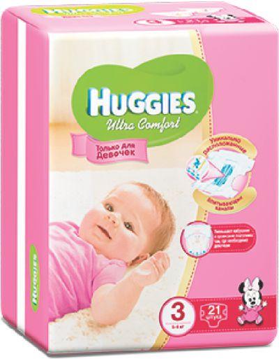 HUGGIES - ПОДГУЗНИКИ HUGGIES UC S5 15шт 12-22кг Д/ДЕВОЧЕК 5029053543581