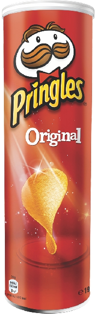 PRINGLES - ЧИПСЫ PRINGLES 165гр ОРИГИНАЛЬНЫЕ 5053990101573