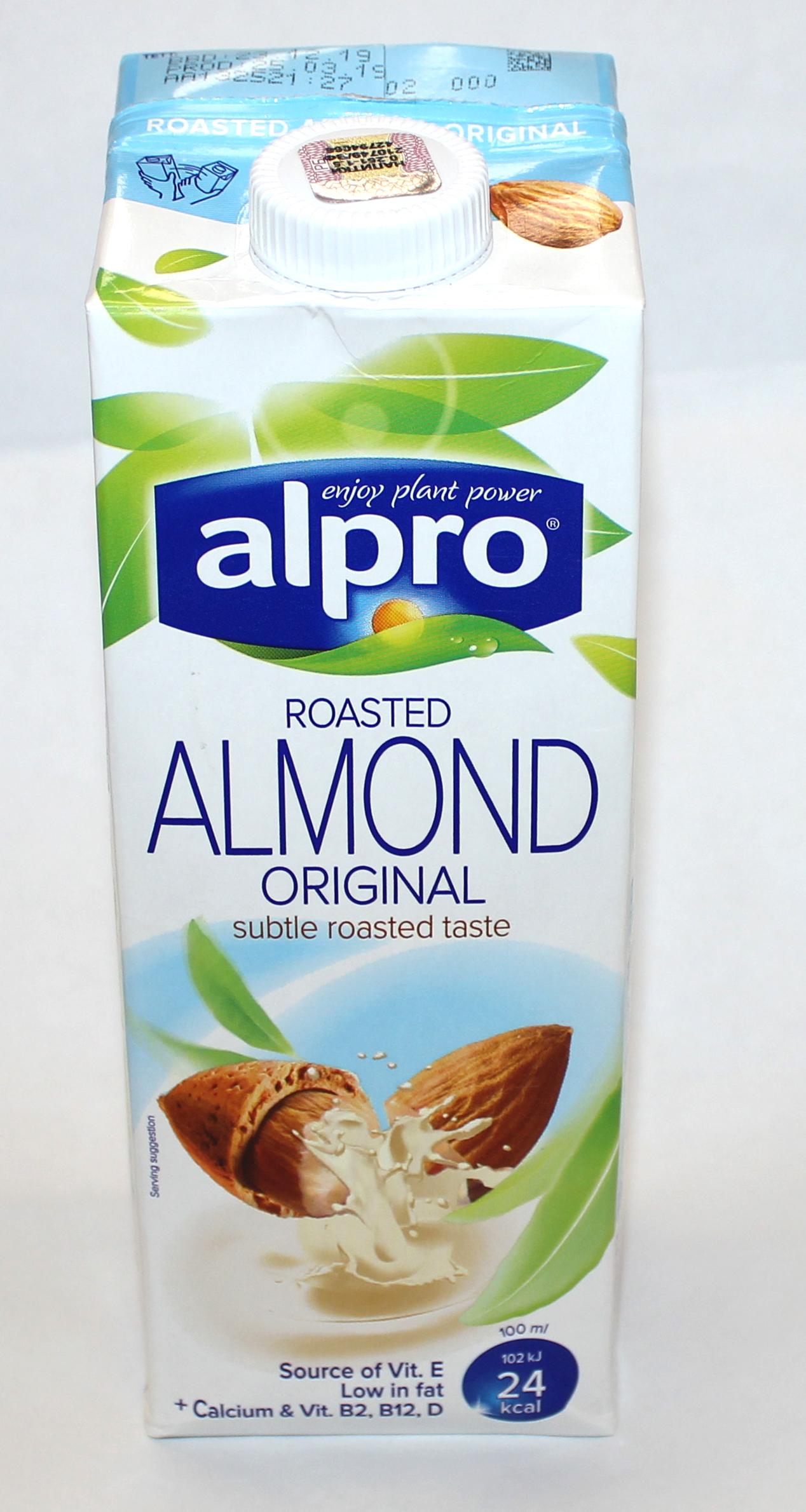ALPRO - НАПИТОК ALPRO 1л МИНДАЛЬНЫЙ 5411188110835