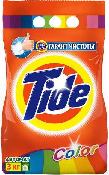 TIDE - СТИРАЛЬНЫЙ ПОРОШОК TIDE 3кг COLOR 5413149343436