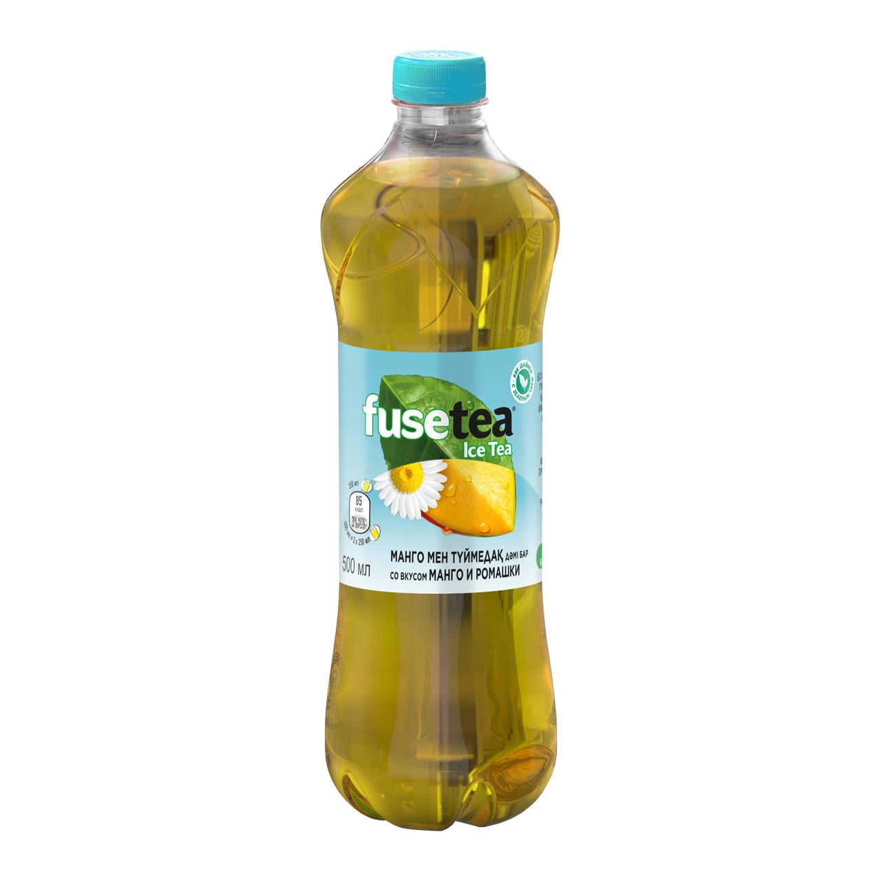 FUSE tea - ХОЛОДНЫЙ ЧАЙ FUSE TEA 0,5л МАНГО-РОМАШКА 5449000027450