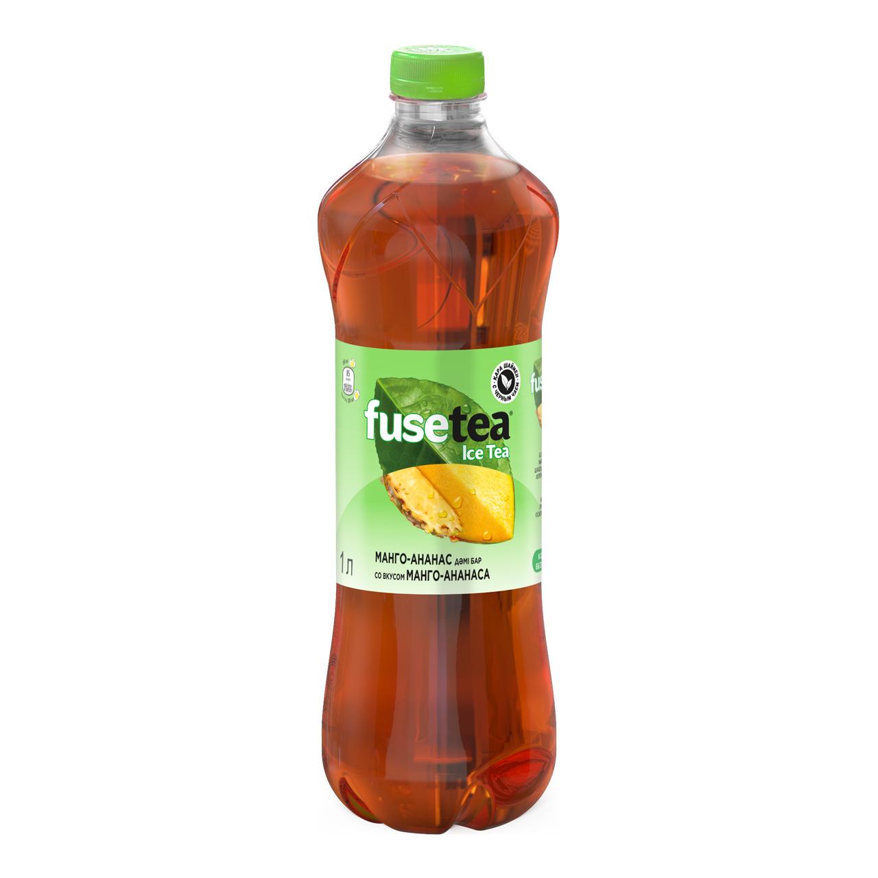 FUSE tea - ХОЛОДНЫЙ ЧАЙ FUSE TEA 1Л МАНГО-АНАНАС 5449000189356