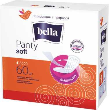 BELLA - ЕЖЕДНЕВКИ BELLA 60шт PANTY SOFT БЕЛАЯ ЛИНИЯ 5900516312084