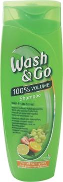 WASH & GO - ШАМПУНЬ WASH & GO 400мл С ЭКСТРАКТОМ ФРУКТОВ 8008970042756