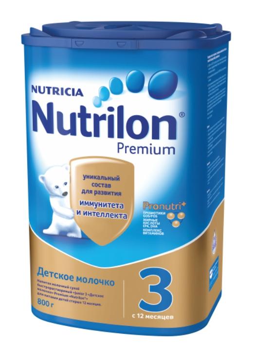 NUTRILON - СМЕСЬ PREMIUM 3 800гр 8718117605842